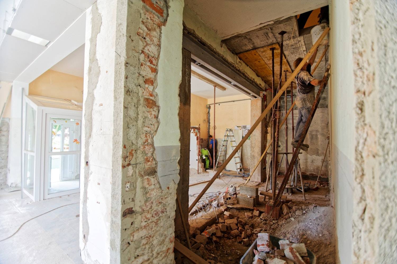 define renovation restoration remodel